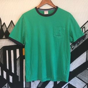 Brooks Brothers Green Shortsleeve T-Shirt
